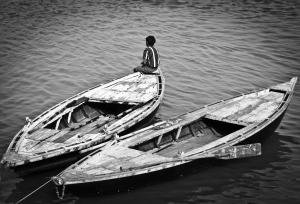 Seul sur mon bateau
