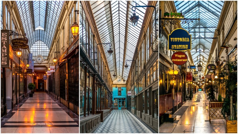 passages Jouffroy, Verdeau et Panorama, Paris
