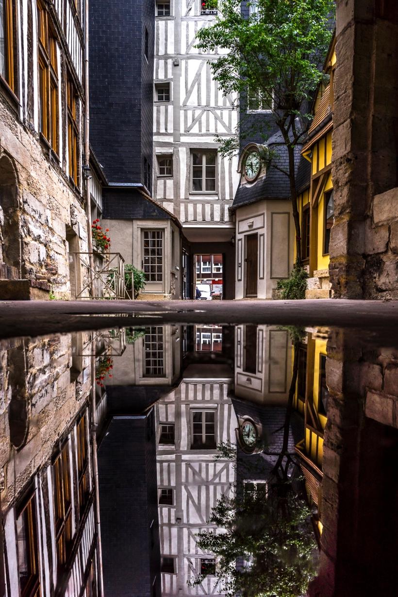 Rouen, Rue de la Petit Horloge