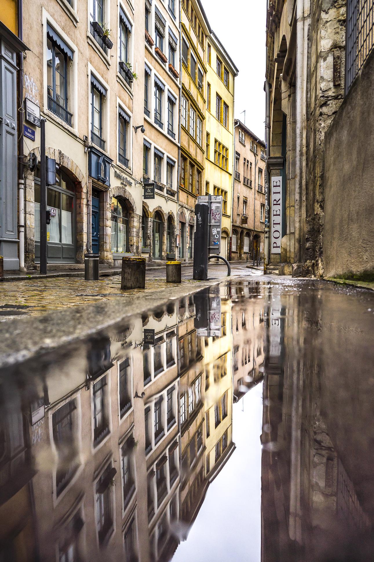 Lyon, France - Rue Tramassac