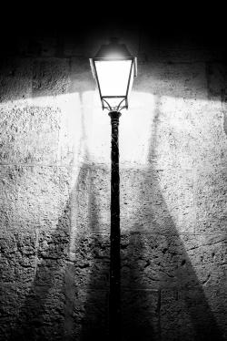 Paris, France - Streetlight shadow