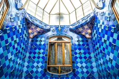 Barcelona - Casa Batllo Blue Ceiling