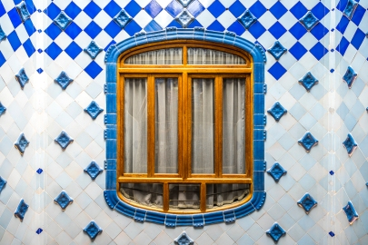 Barcelona - Casa Batllo Blue Window