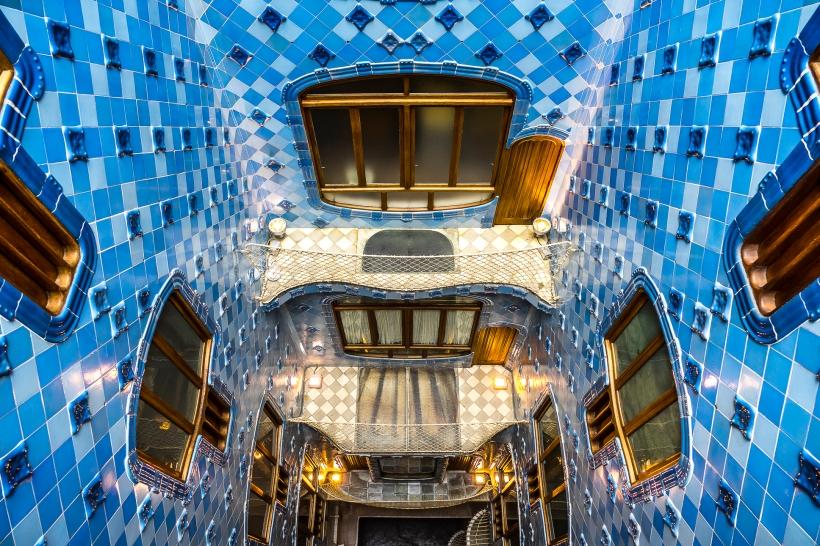 Barcelona - Casa Batllo Main Courtyard