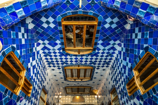 Barcelona - Casa Batllo Second Courtyard