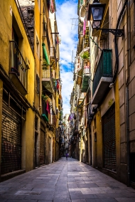 Barcelona - Colourful Street, El Born