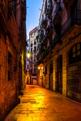 Barcelona - Early Morning, Barrio Gotico