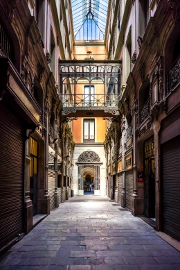 Barcelona - Paseo Bacardi, Barrio Gotico