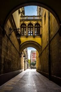 Barcelona - Paseo, Barrio Gotico
