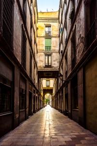 Barcelona - Paseo de la Paz, Barrio Gotico