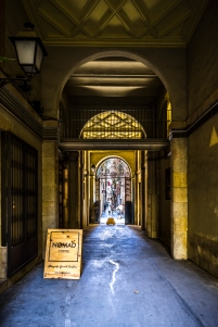 Barcelona - Passage, El Born