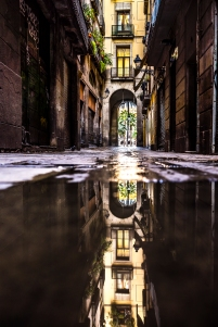 Barcelona - Reflections, Barrio Gotico