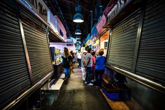 Barcelona : Boqueria Alley