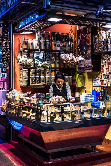 Barcelona, Boqueria : Spice Merchant