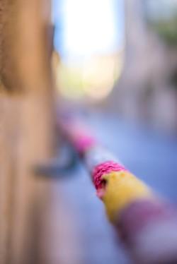 Lyon, France - Follow the wool thread