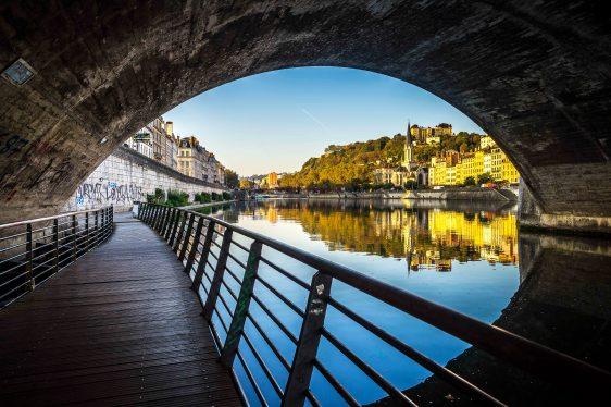 Lyon, France - To Saint-Georges