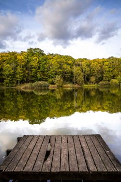 Meudon, France - Calm waters