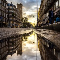 Paris : after the rain