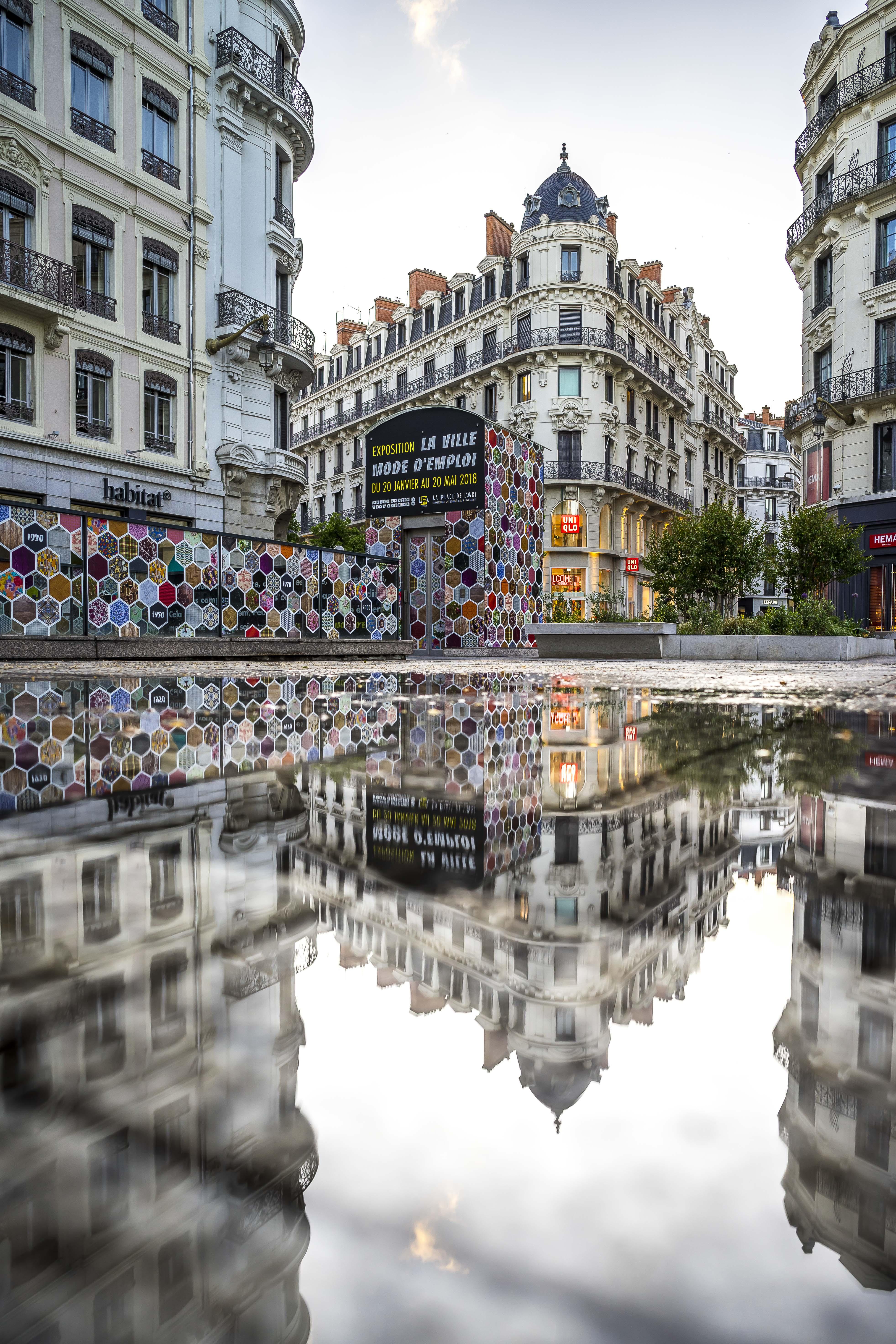 Lyon, France - Place de la République