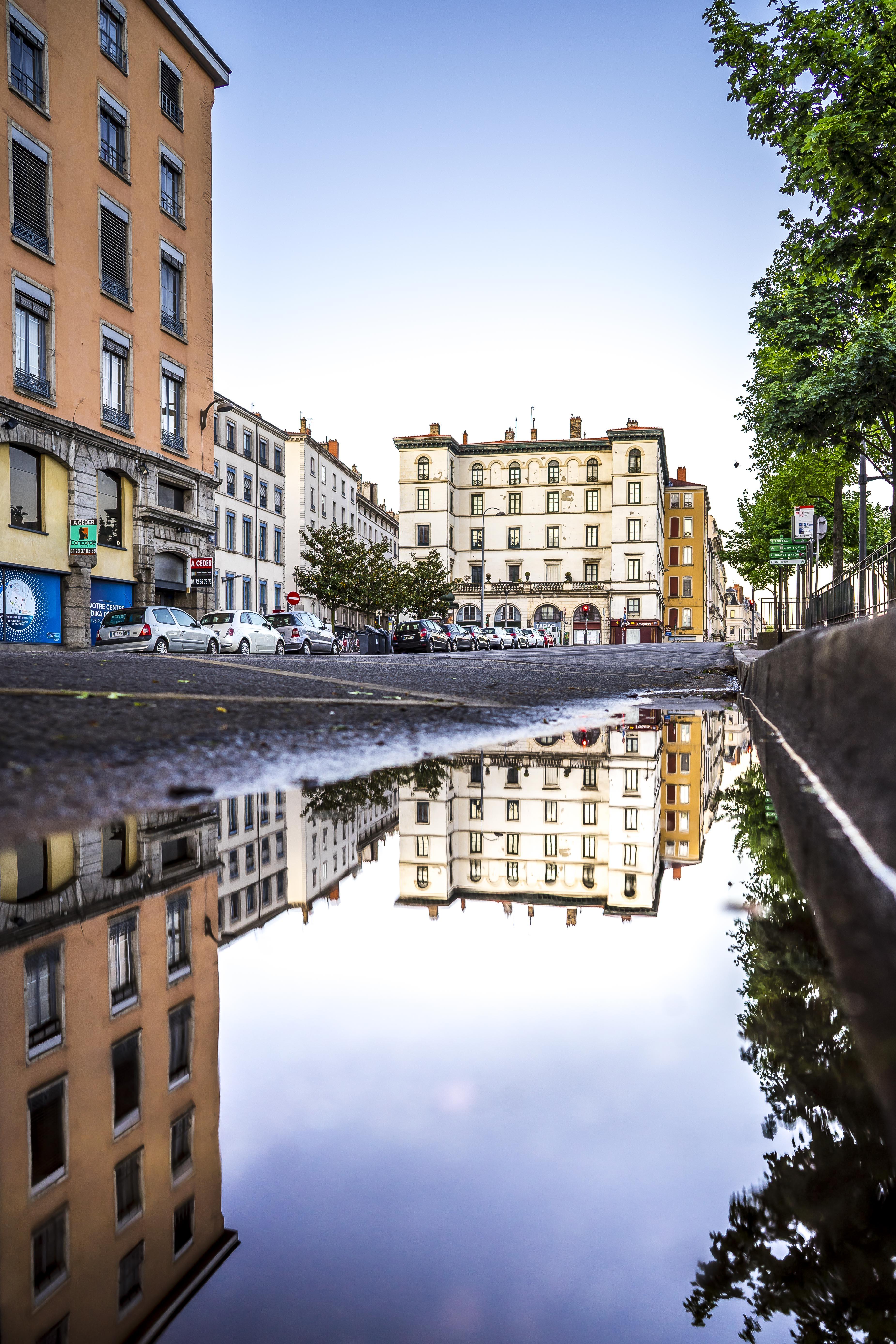 Lyon, France - Quai Tilsit