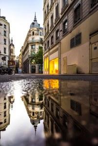 Lyon, France - Rue Confort