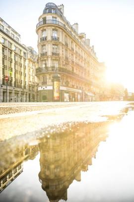 Paris, France - Rue Réaumur