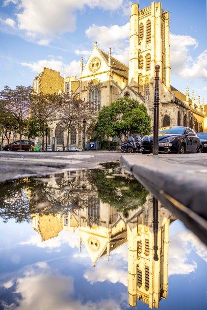Paris, France - Saint-Nicolas des Champs