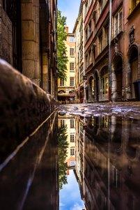Lyon, France - Rue des 3 Marie