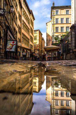 Lyon, France - Rue Saint-Jean