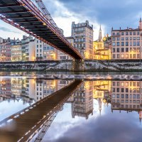 Puddle Photography in Lyon : help me pick my 5 best photos