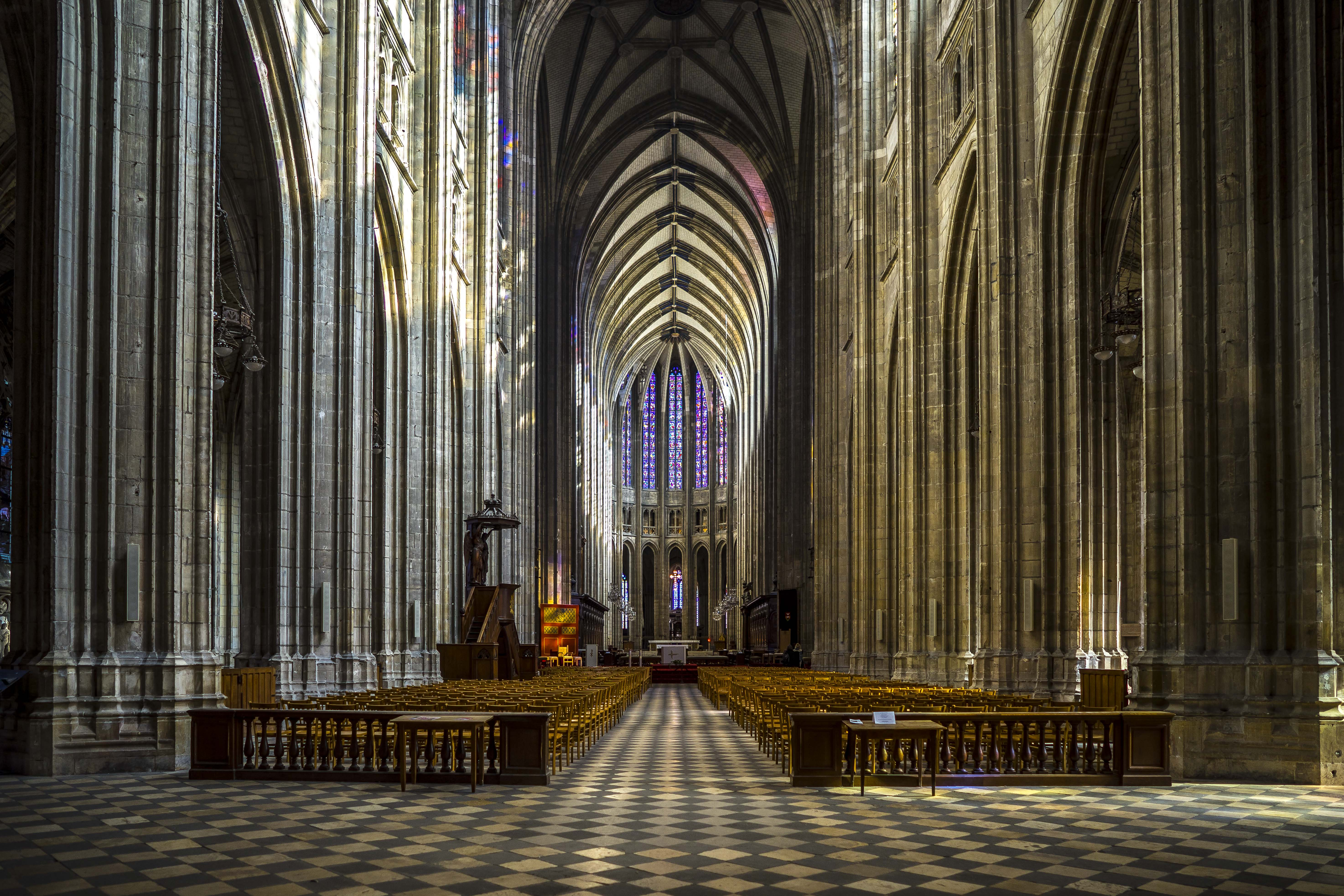 Orléans, France - Inside the Cathedral