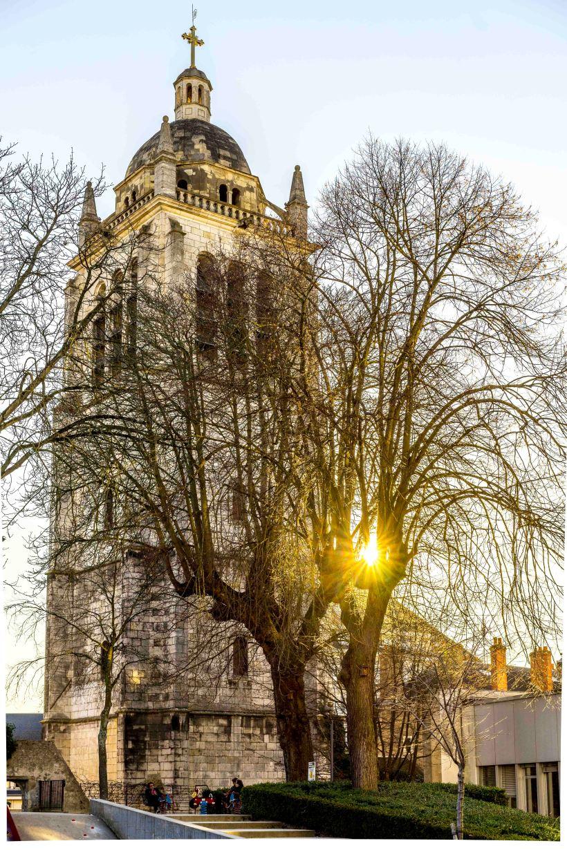Orléans, France - Saint Paul Belfry