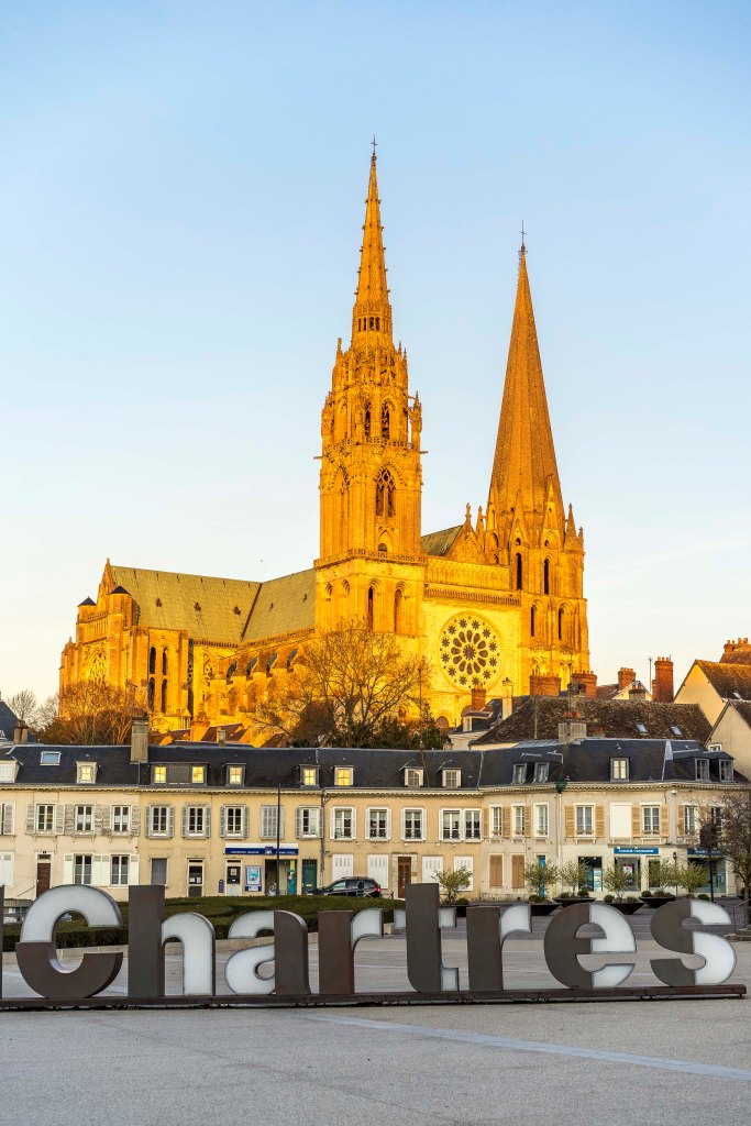 Chartres, France - Golden Cathedral