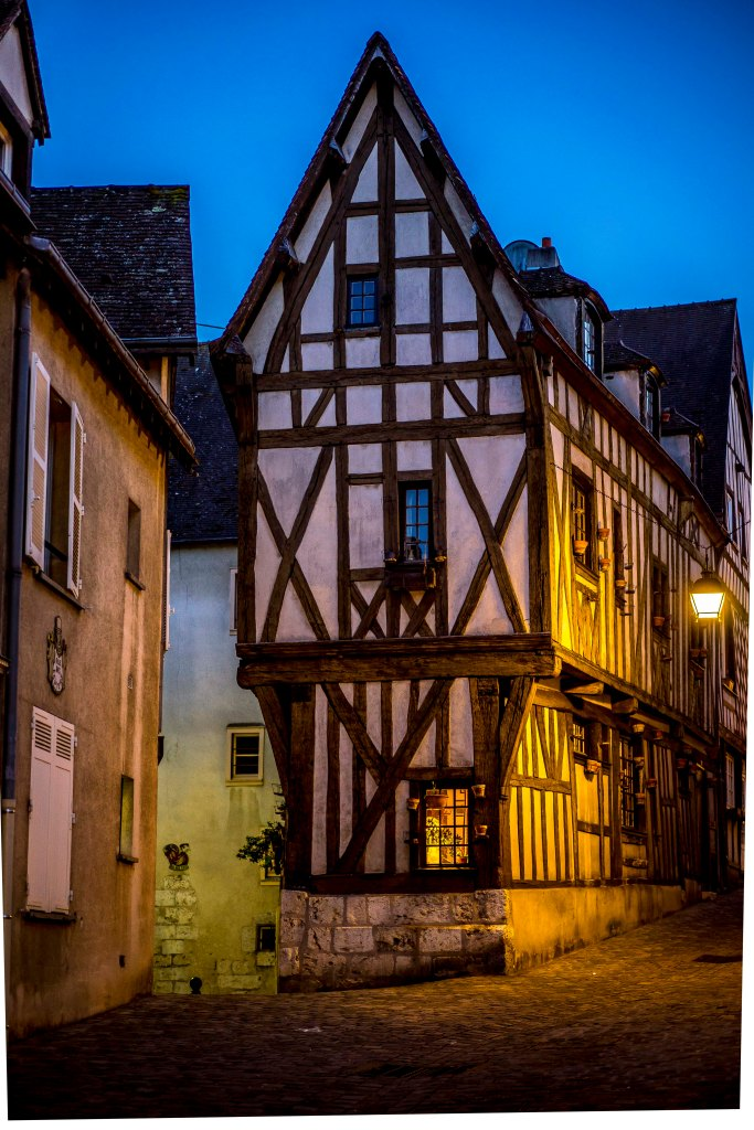 Chartres, France - Old house in old district