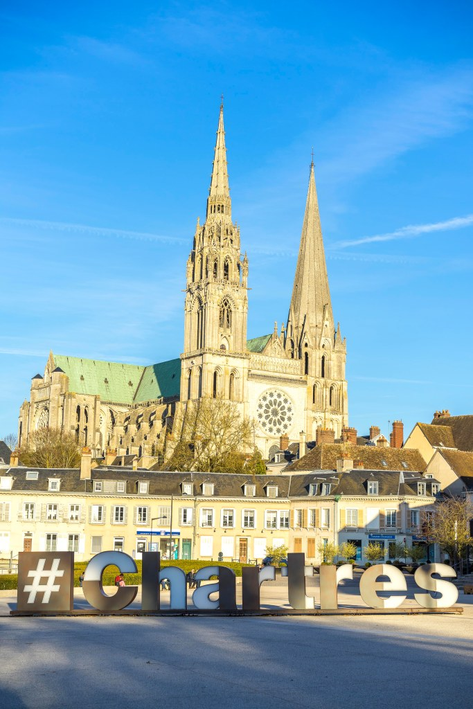 Chartres, France - View from the train station