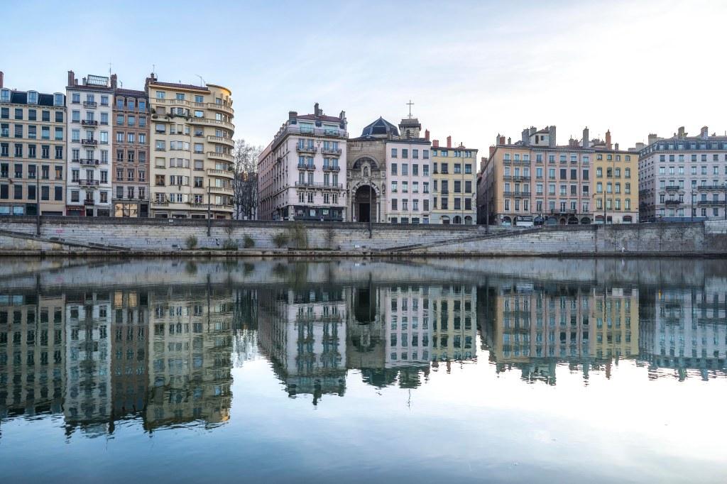 Lyon, France - Quai Saint-Vincent