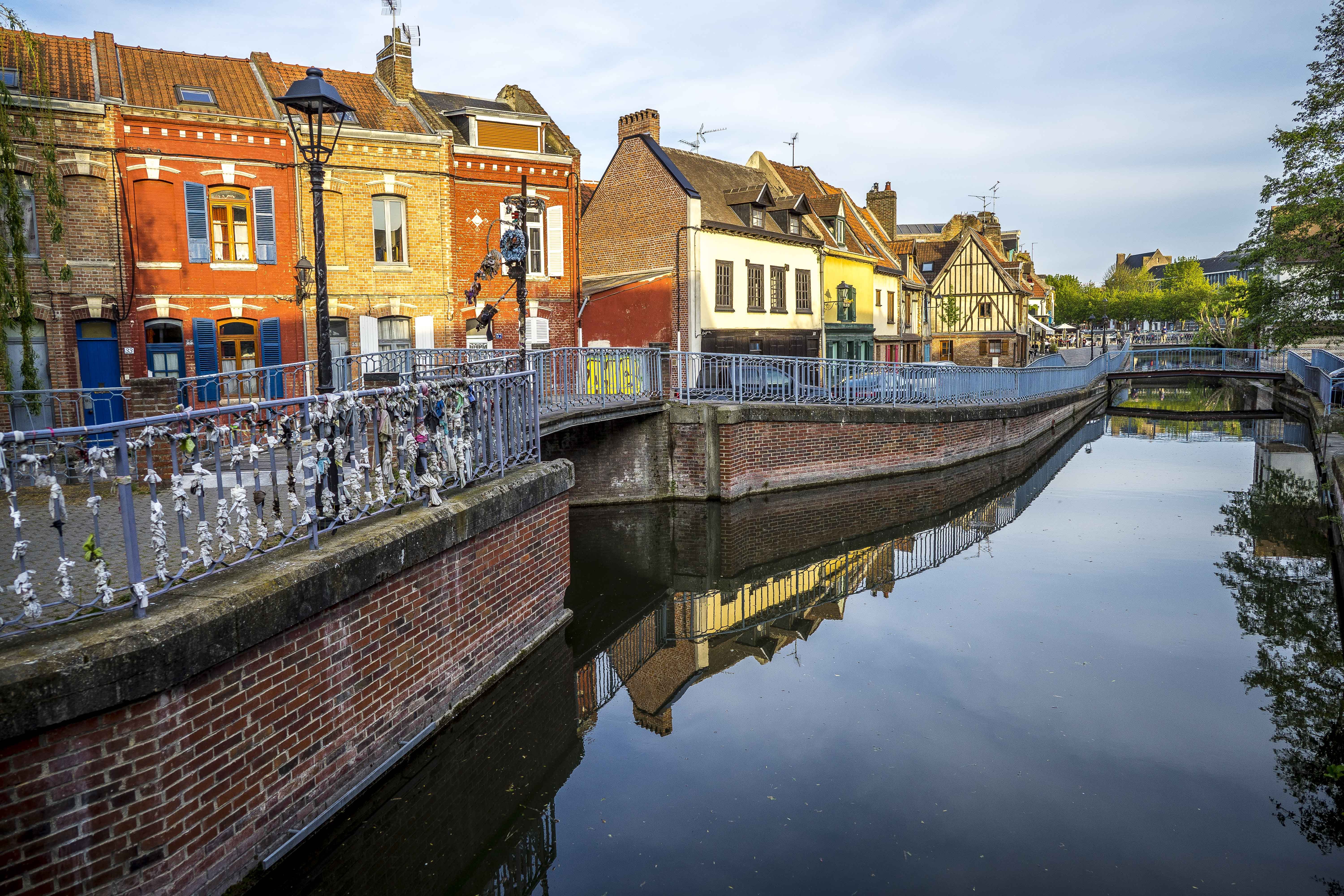 Amiens - Banks of the Somme river