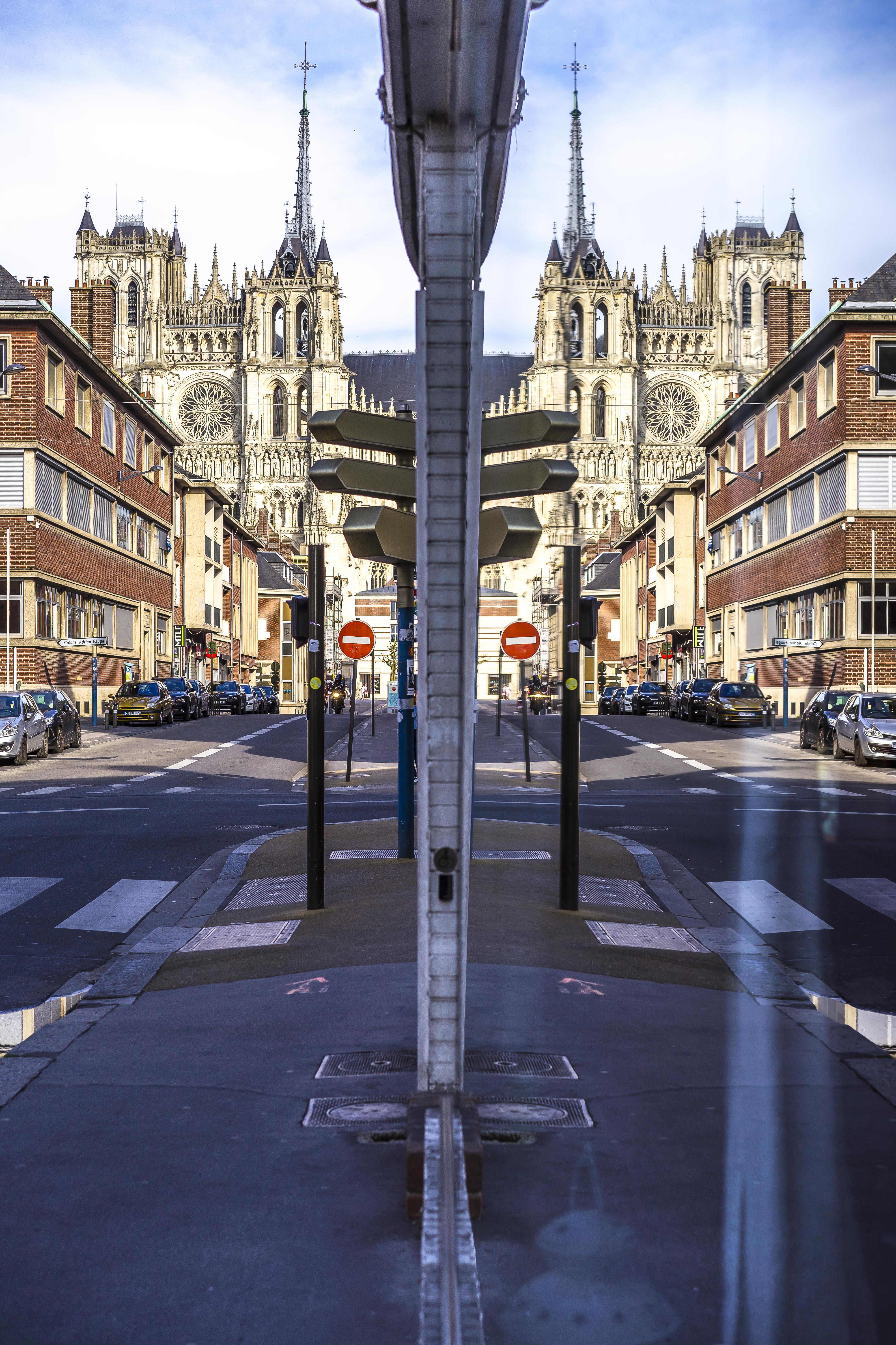 Amiens, France - Double vision