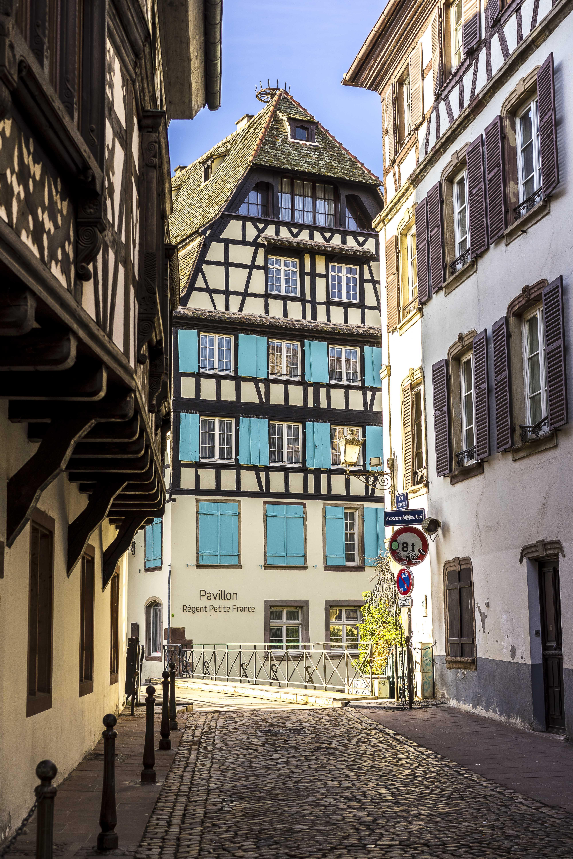Strasbourg, France - Pont du Faisan