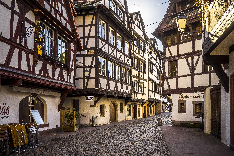 Strasbourg, France - Petite France, Rue des Dentelles