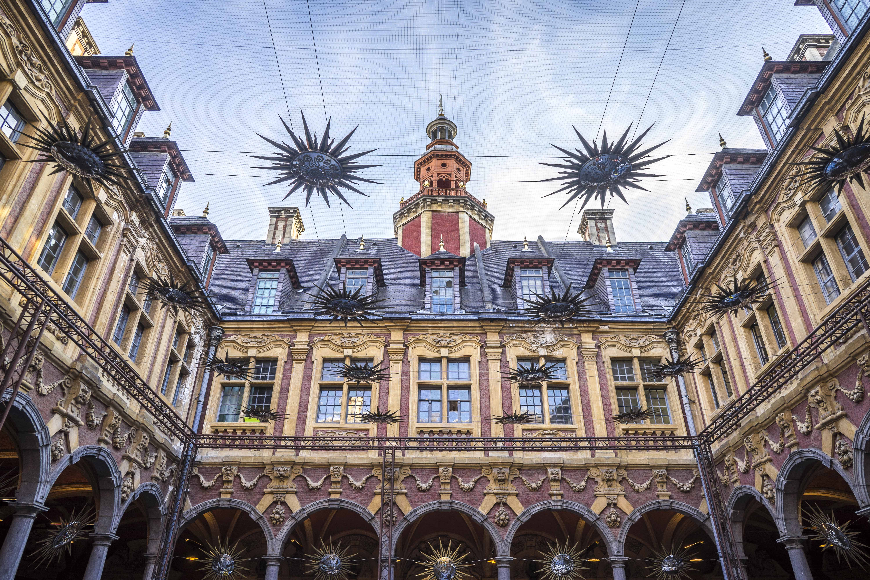 Lille, France - Bourse