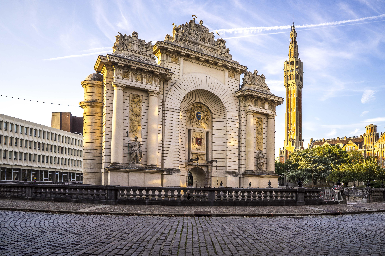 Lille, France - Porte de Paris