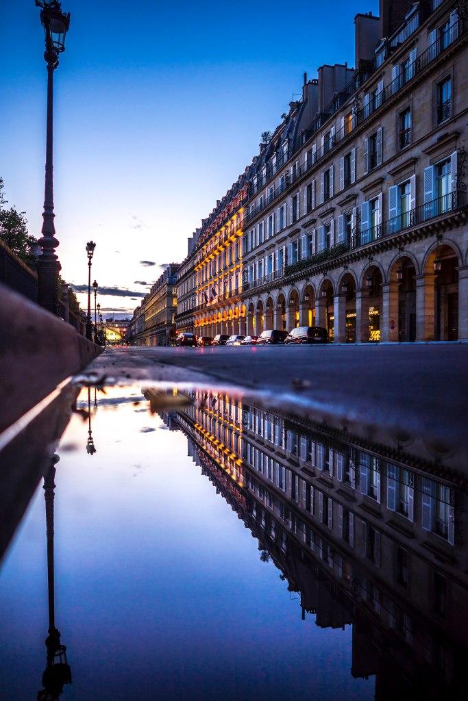 Paris, France - Rue de Rivoli